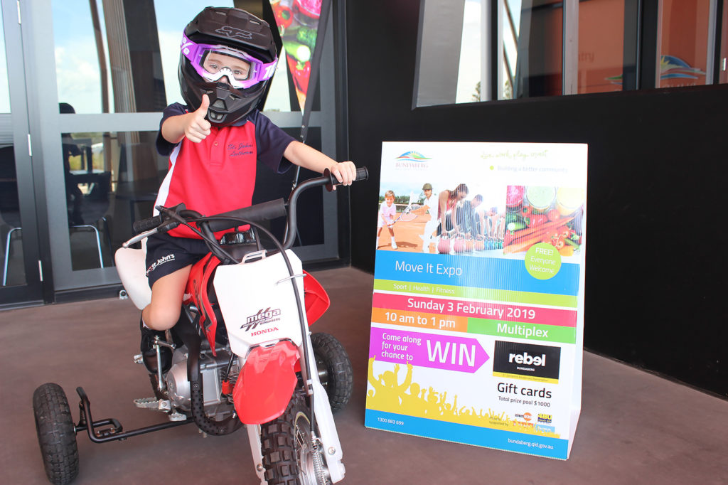 The Move It Expo is happening this weekend and five year old Arianna Juster is excited.