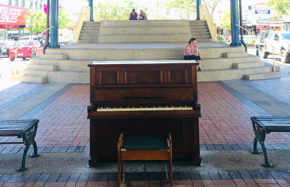 Community Peion | Community Piano Strikes A Chord In Bundaberg Cbd Bundaberg Now
