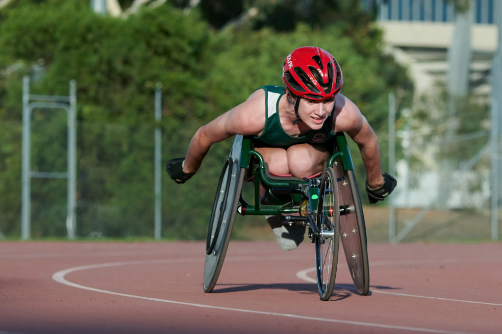 Bundaberg para athlete Nathan Donaldson