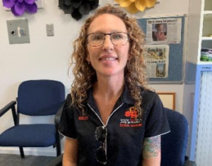 Kelly Giles has joined the school chaplaincy program at Bundaberg North State High School.