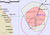 Tropical Cyclone Oma tracking map