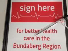 Petition to build a new hospital in Bundaberg