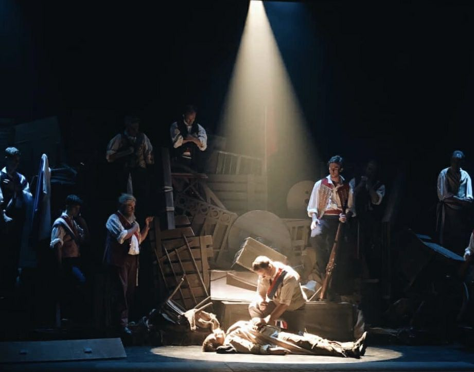 Les Miserables opens Friday at the Moncrieff, 29 March