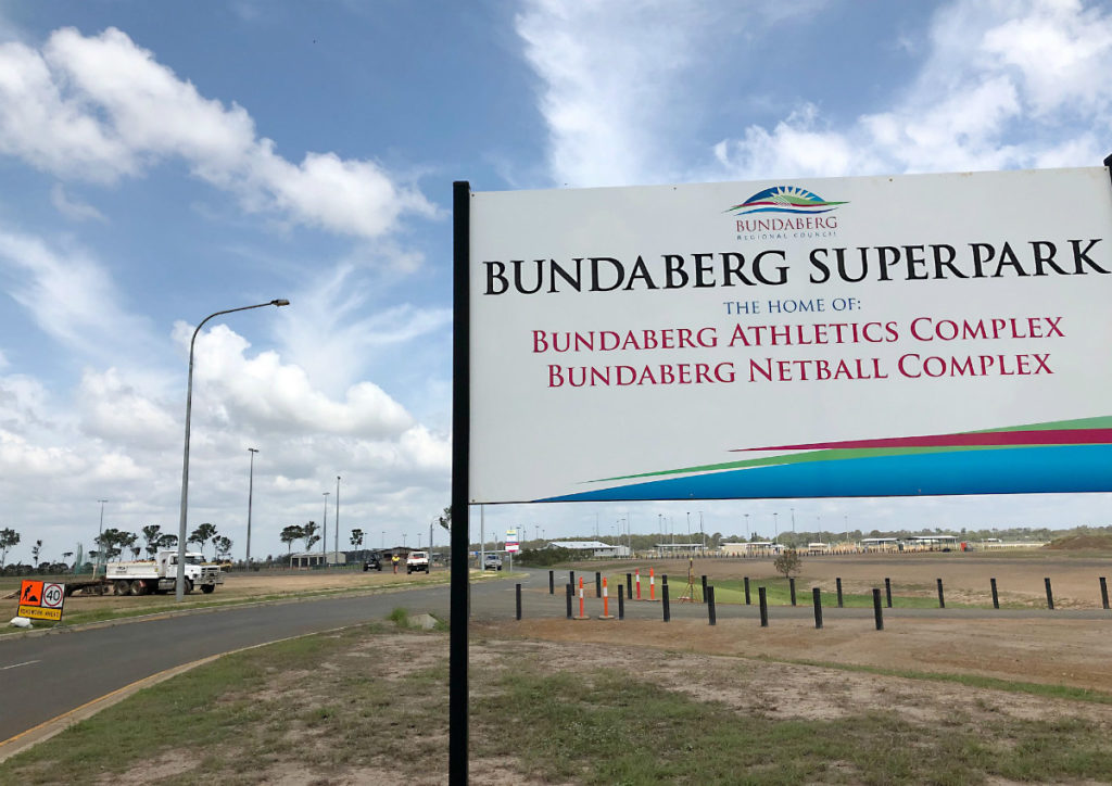Bundaberg Superpark carpark