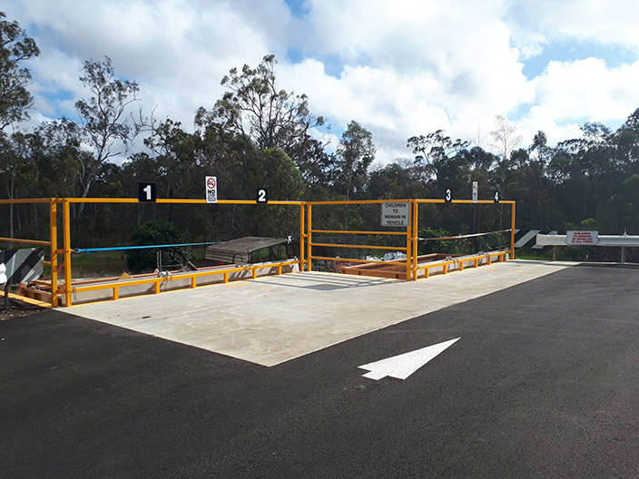 The upgrade to the transfer station at Avondale Waste Facility.