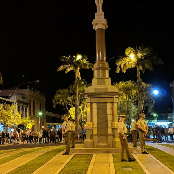 Bundaberg Region Anzac Day 2019