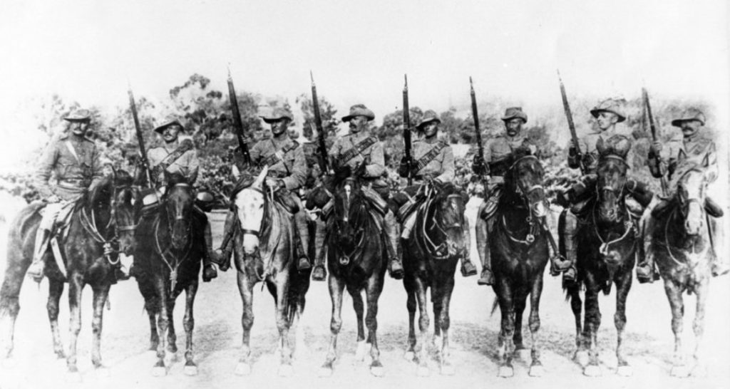 Australian Mounted Infantry in the Anglo Boer War