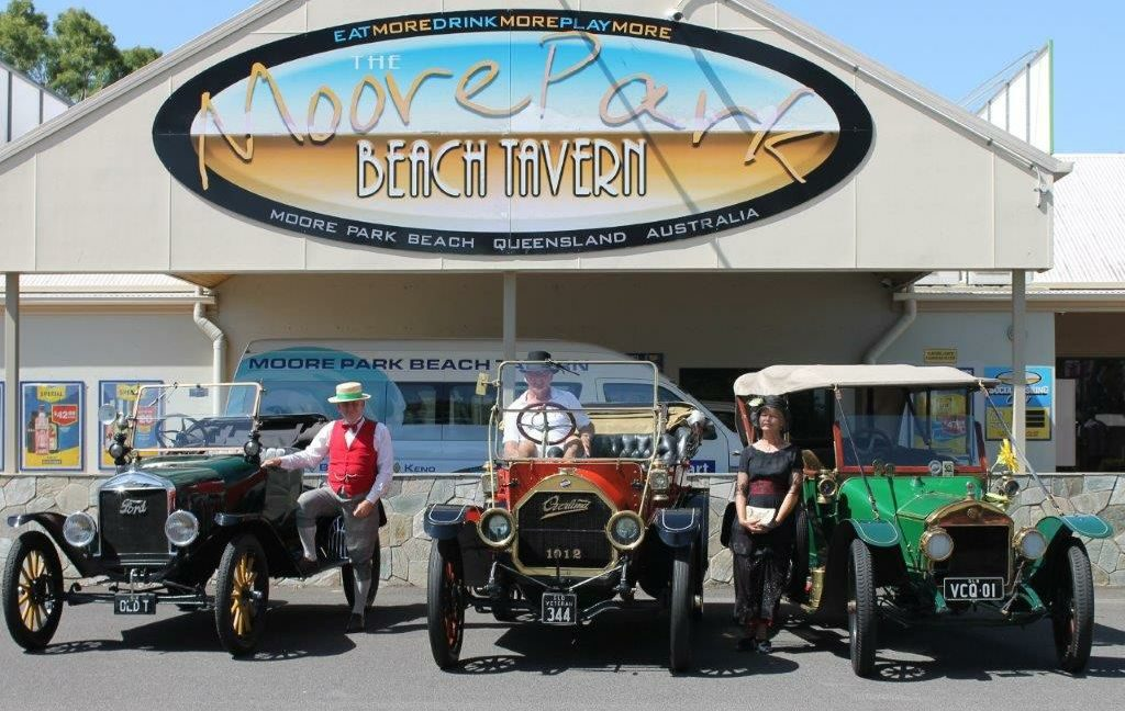 Moore Park Beach Veteran Car Rally Festival