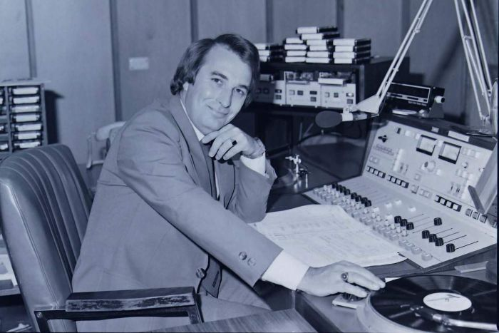 Richard Peach has been the voice of the Telstra talking clock since 1990