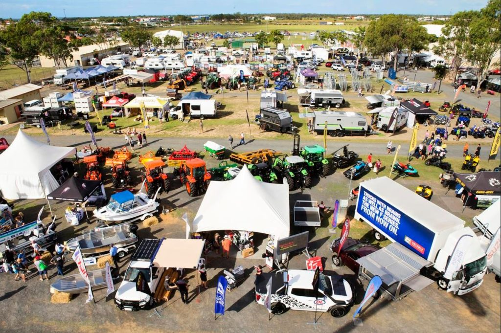 The Agrotrend site at the Recreational Precinct will be jam packed with displays and exhibitions Friday and Saturday.