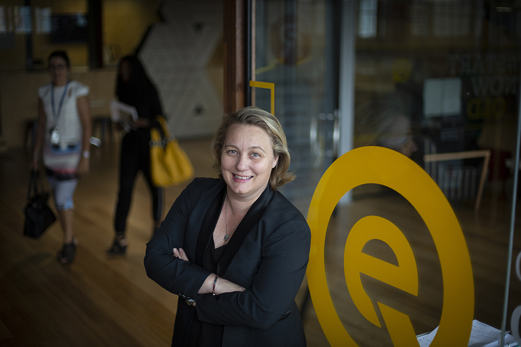 Queensland Chief Entrepreneur Leanne Kemp will appear at the Hinkler Innovation Series event in May.