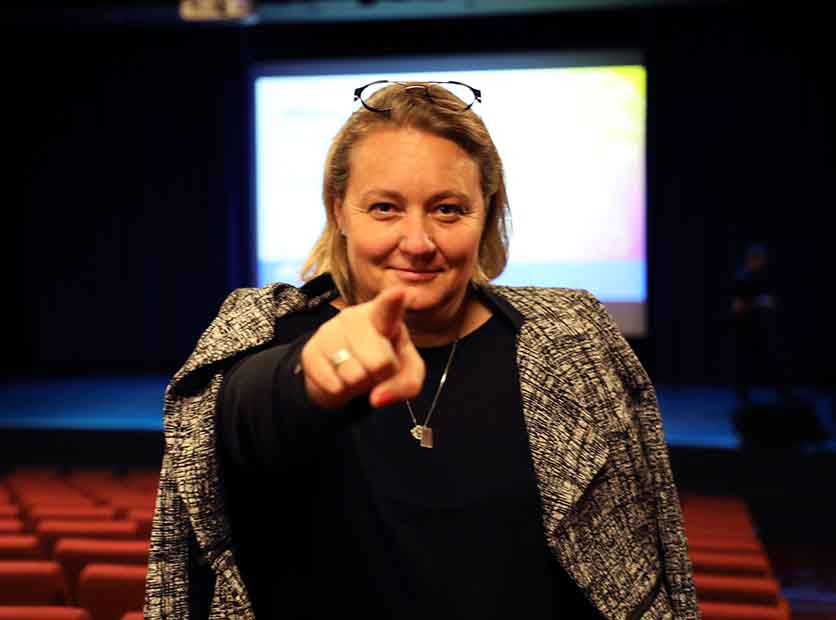 Innovation starts with you! Queensland's Chief Entrepreneur Leanne Kemp in Bundaberg today.