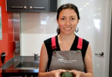 Mobile kitchen manager Amalia Berastegui will host classes in Bundaberg over the next 10 weeks.