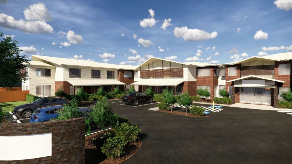 Artist impression of the proposed River Springs Drive aged care facility in Avoca
