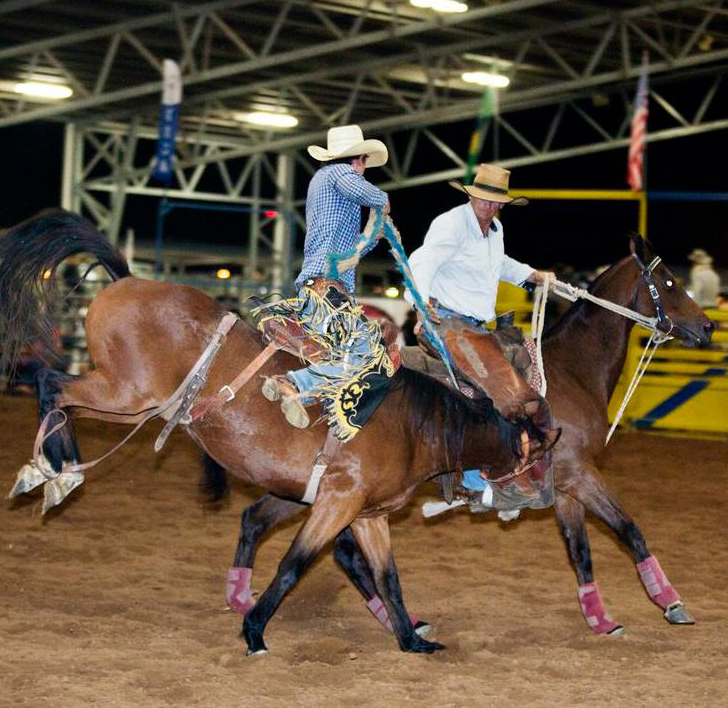Rodeo action will take centre stage on Saturday evening with gates at the Recreational Precinct opening at 4pm.