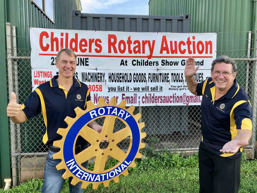 Childers Rotary Auction