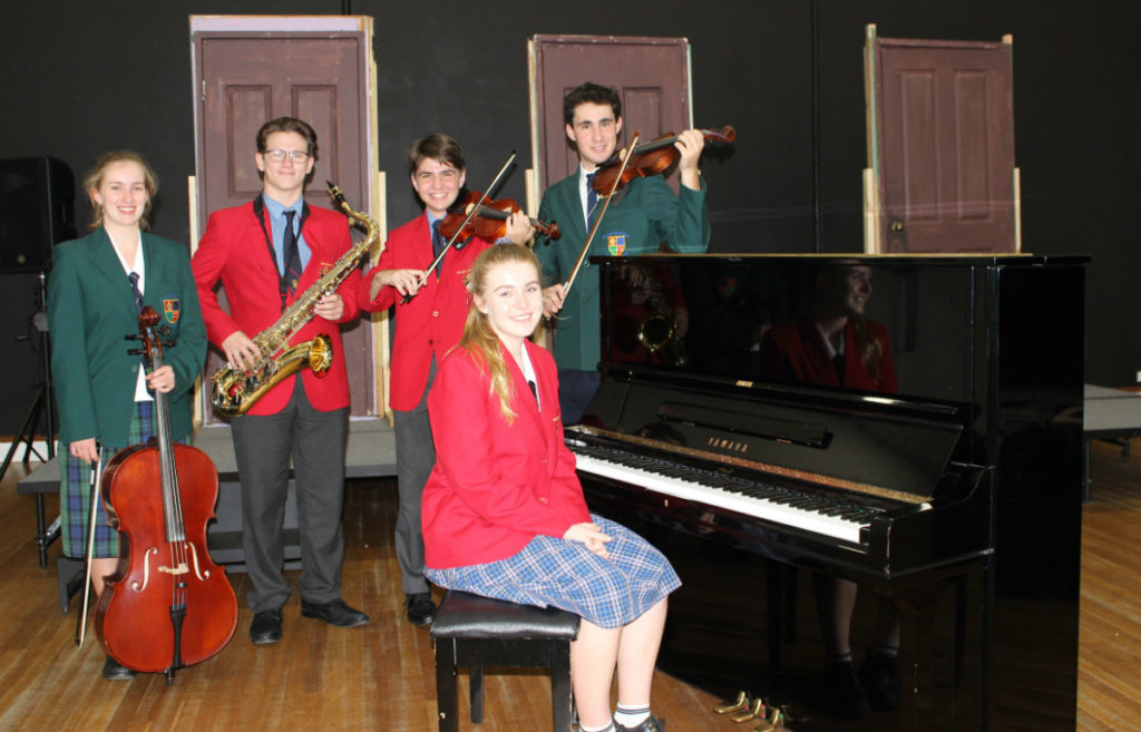 Charity concert involving students from St Luke's Anglican School and Shalom College