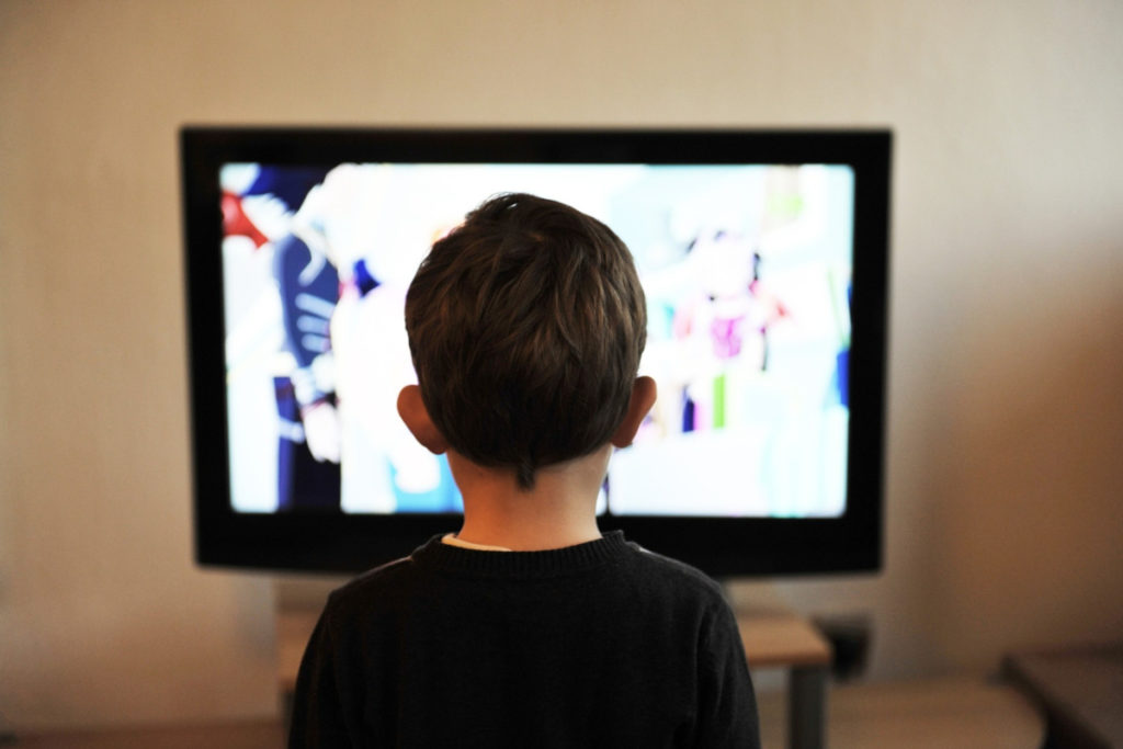 Data shows that our young children are spending about 15 hours per week in front of the screen.