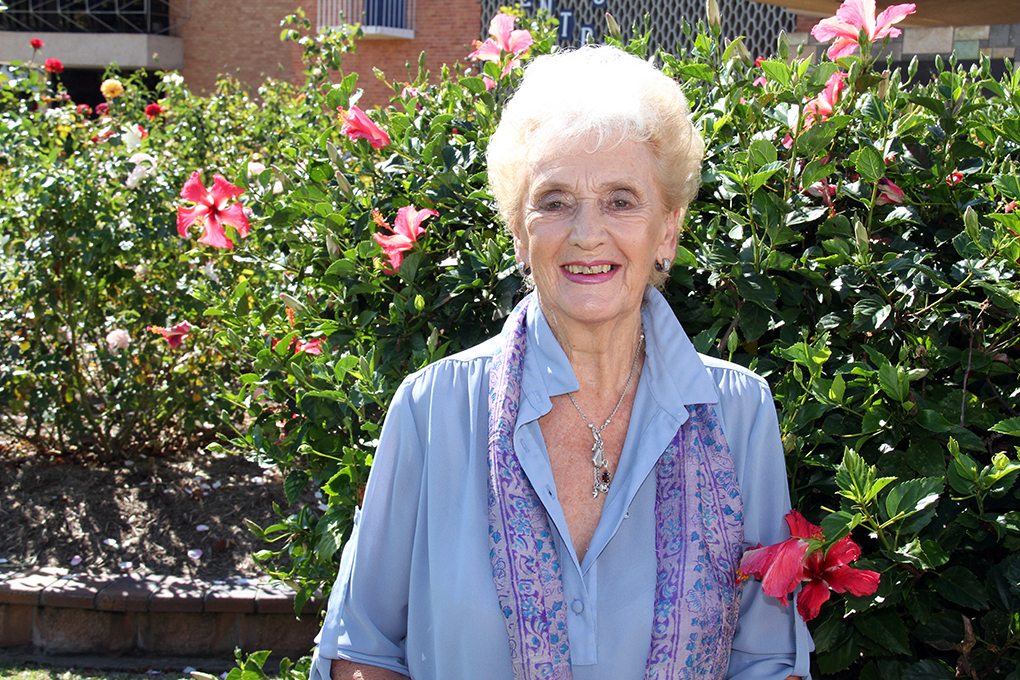 Moore Park Beach's Patricia Walker is a 2019 Medal of the Order of Australia recipient.