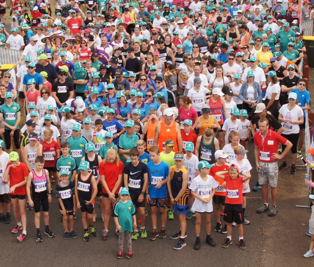 Thousands of people ready to race at last year's Cane2Coral.  Photo: Facebook