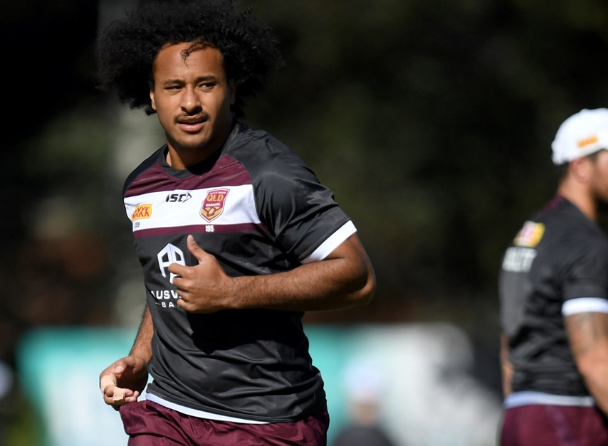 Antonio Kaufusi's younger brother Felise has been selected to represent Queensland in State of Origin.  SOURCE: nrl.com
