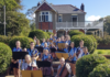 Bundaberg State High School orchestra performs at Hinkler House