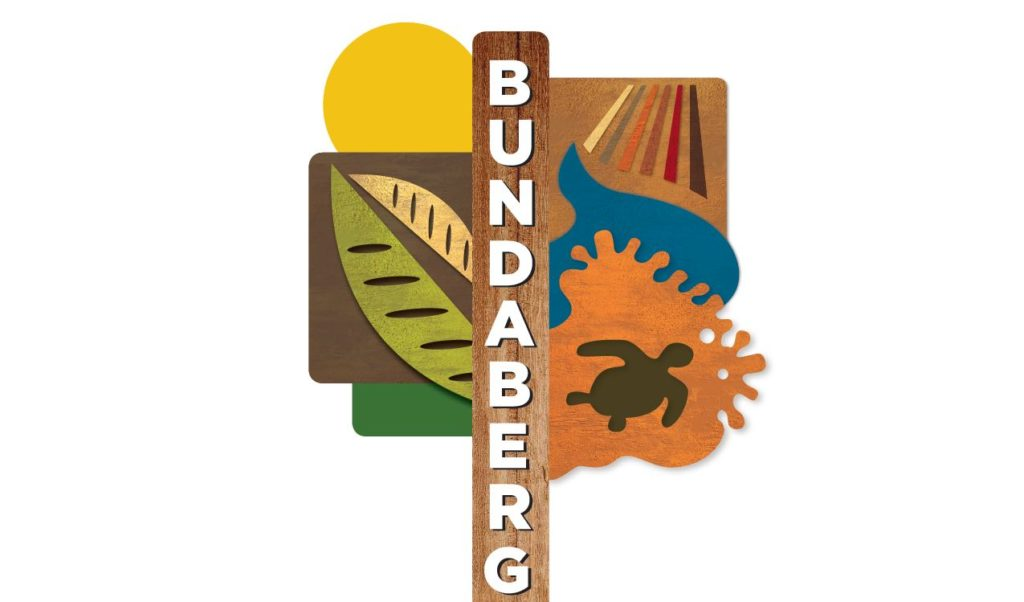 The new design for Bundaberg entry signage