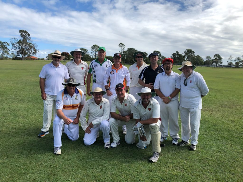 Veterans cricket team Bundaberg