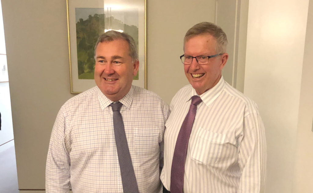 Bundaberg issues discussed in Canberra