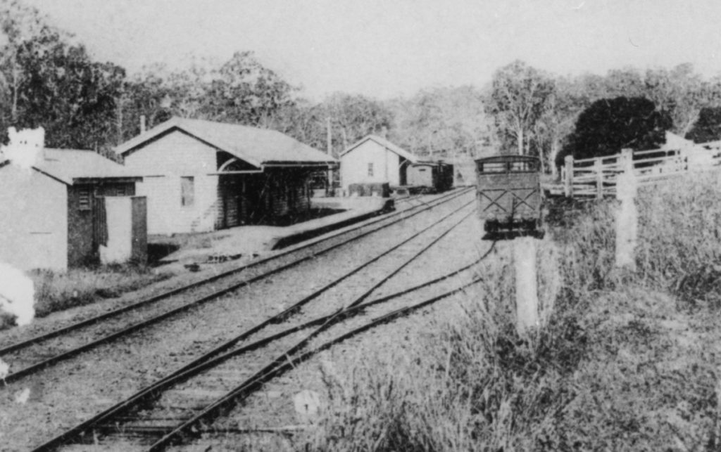 Gin Gin Railway Station would be a trail head for the proposed Gin Gin rail trail.