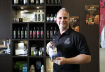 Kalki Moon founder and distiller Rick Prosser is preparing to export his locally made gin to the United Kingdom.
