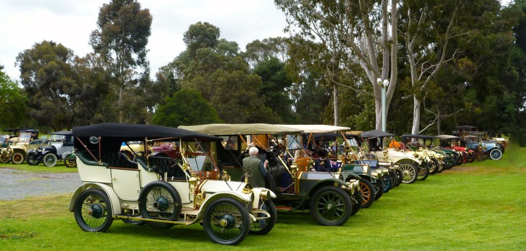 Over 130 cars from the early 1900s will come to Bundaberg for the rally.