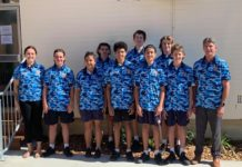 Eight students and two teachers from Bundaberg State High School took on the Gold Coast Kokoda Challenge