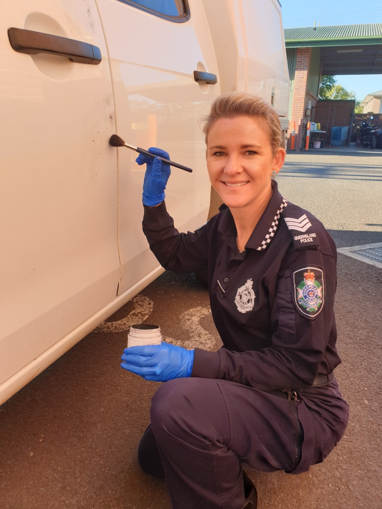 Acting Sergeant Tracy Graham shares her passion for snakes and forensics