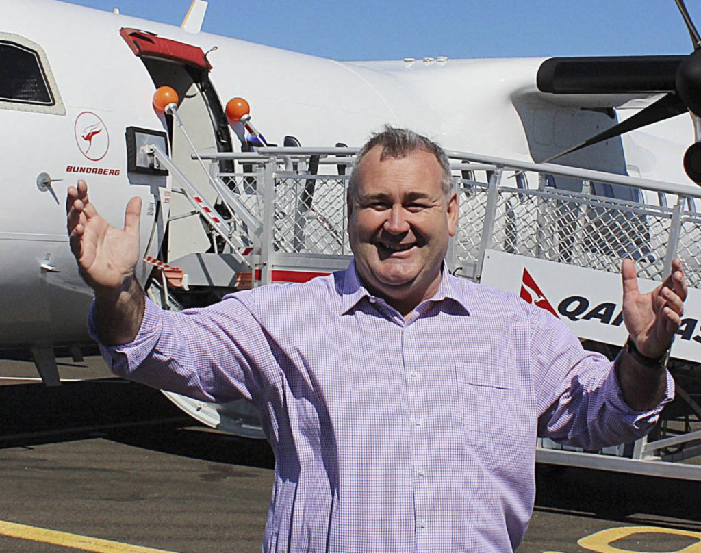 Mayor Jack Dempsey has rolled out the welcome mat to the Bundaberg Region following the Queensland Olympic bid.