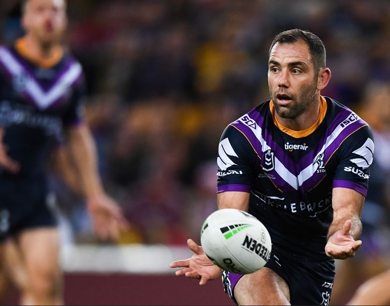 Cameron Smith will mark a 400 game milestone in round 17. Source: Melbourne Storm