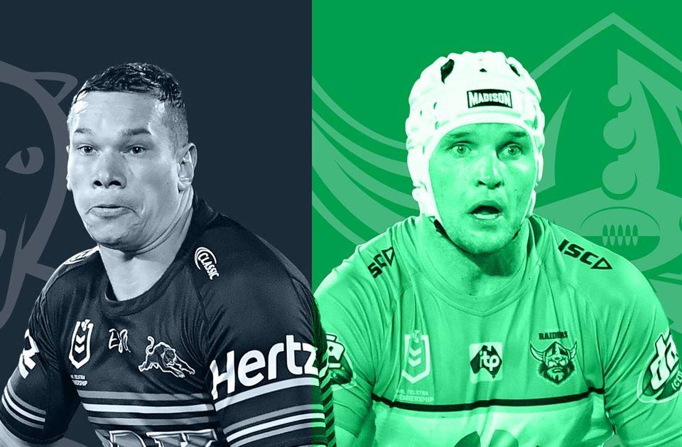 KAUFUSI'S CALL: The Raiders are tipped to end the Panthers' seven match winning streak. Source: nrl.com