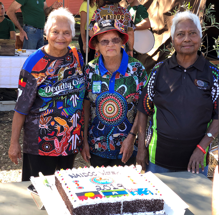 The Gin Gin community celebrated NAIDOC Day at the weekend.