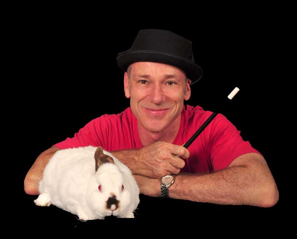 Childers Festival magician Glen Rhodes will be showing off all of his sleight-of-hand tricks as he roams around the festival.
