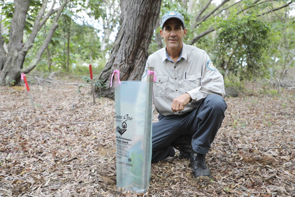 Mon Repos Conservation Park ranger Shane O'Connor is encouraging residents to assist with the Reducing Urban Glow Project
