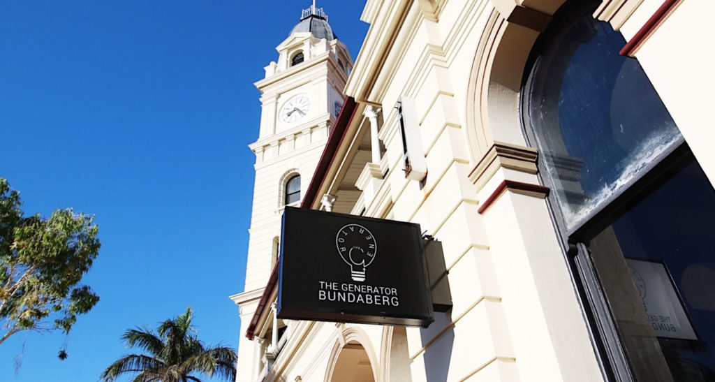 The Generator Bundaberg can be located in the upstairs area of the CBD Post Office.