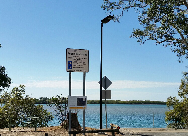 A new solar light was recently installed at the Winfield boat ramp.
