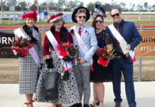 Fashions on the Field winners at Bundaberg Gold Cup