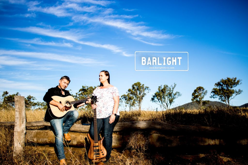 The Barlight duo will perform at the Sugarland Tavern on Saturday evening.