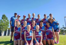 Bundy Junior Touch players are getting ready for the Queensland Junior State Championships