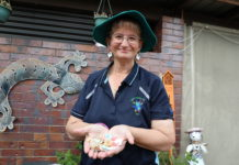 Debbie Knowles is collecting the humble little bread tags from around the Bundaberg Region to help disadvantaged people have access to wheelchairs in the initiative Bread Tags for Wheelchairs.