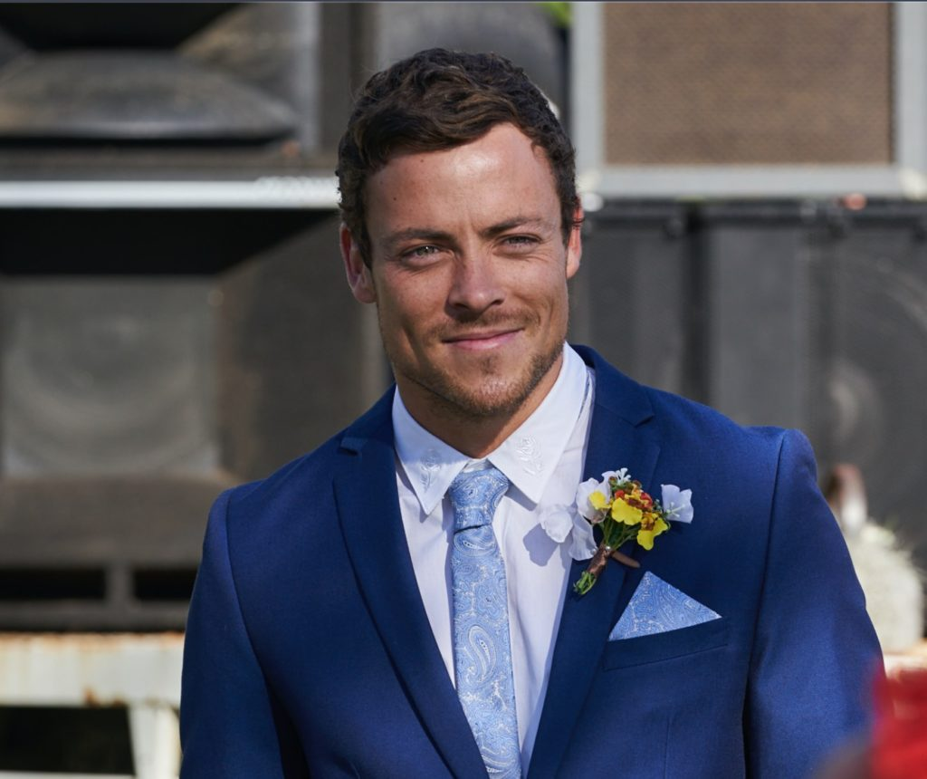 Patrick O'Connor, who plays Dean Thompson, will be one of three Home and Away stars attending the Ability Ball.