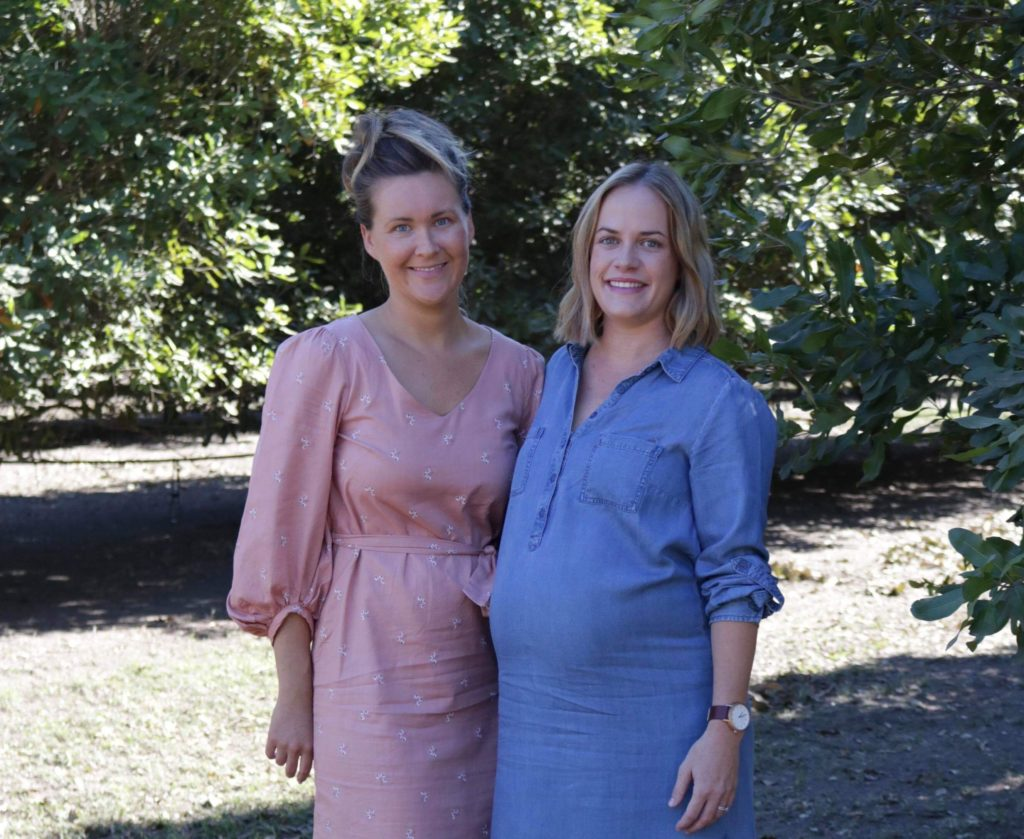 Salty Co nut business owners Minty Blair and Aynsley Berthelsen