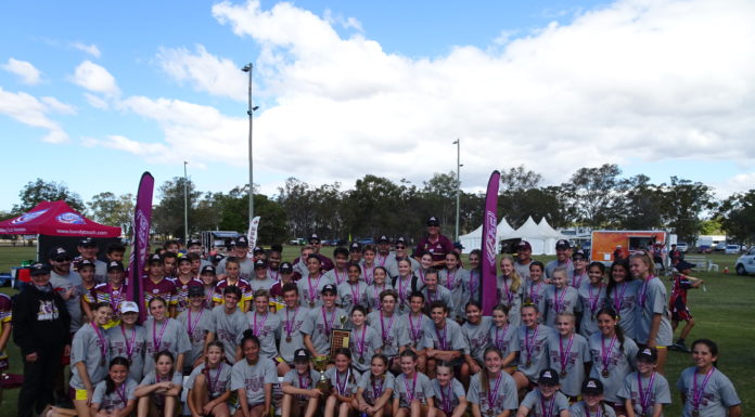 Central Queensland Bulls charged through their opposition to be crowned champion region in the Queensland Junior Touch State Championships at the weekend.
