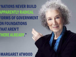 Margaret Atwood will hit the Moncrieff Entertainment Centre screen next month